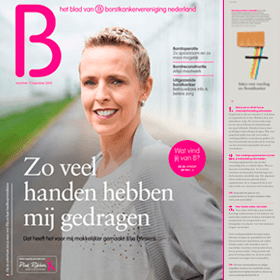 Artikel Feiten over voeding & (borst)kanker - tijdschrift B - Janine Bruinooge