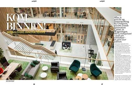 Adformatie - werkplek - reportage Unilever Foods Innovation Centre - Janine Bruinooge