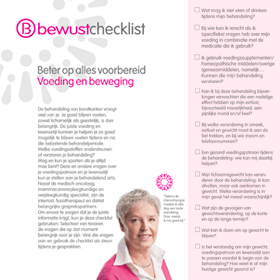 Checklist Voeding & Beweging – BVN - Janine Bruinooge