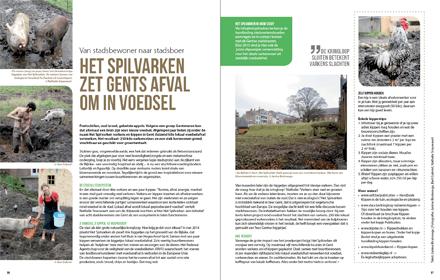 Artikel Het Spilvarken - Cashew Stadstuinieren - april 2015 - Janine Bruinooge