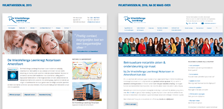Nieuwe website VVL Notarissen 2016 - Janine Bruinooge