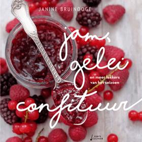Kookboek Jam Gelei Confituur en meer lekkers van het seizoen - Janine Bruinooge