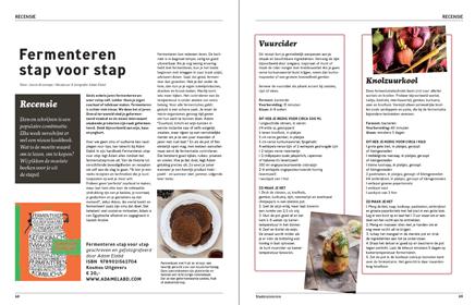 Recensie kookboek Fermenteren - Stadstuinieren - Janine Bruinooge