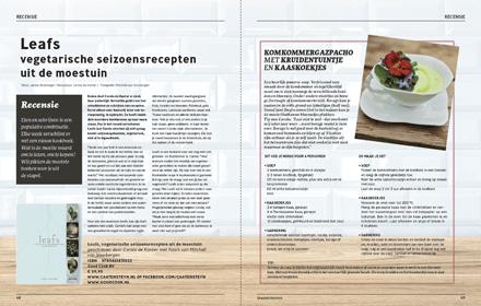 Recensie kookboek Leafs - Stadstuinieren - Janine Bruinooge