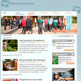 Janine Bruinooge ontwikkelde een nieuwe website voor de Stichting Zuilen en Vecht: www.zuilenenvecht.nl
